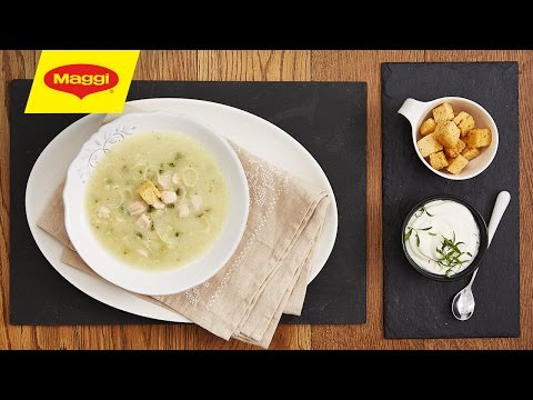 Chicken and Leek Asparagus Soup