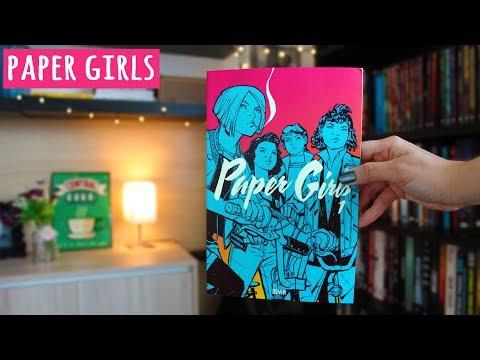 PAPER GIRLS (suspense e aventura nos anos 80) | BOOK ADDICT