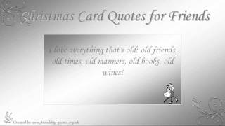 Christmas Card Quotes for Friends