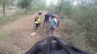 preview picture of video 'מסלול הרצל הכחול ביער בן שמן'