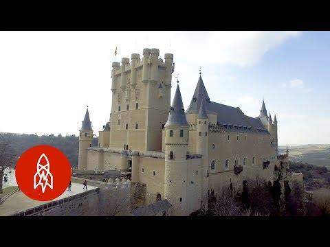 Explore the Spanish Castle that Inspired Disney