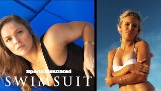 Ronda Rousey vs. Caroline Wozniackii: Who Will Win?  | On Set | Sports Illustrated Swimsuit