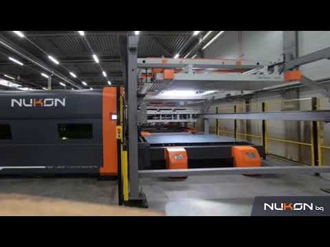 Nukon expert Lift Compact – Loading-Unoading System – Timelapse