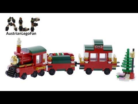 Vidéo LEGO Saisonnier 40138 : Le train de Noël
