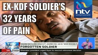 Ex-military Isaiah Ochanda bedridden, seeking compensation for 32 years