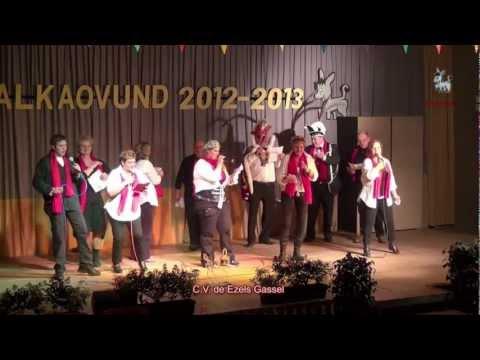 Winnaar balkavond 2012 2013, C.V. De Ezels Gassel