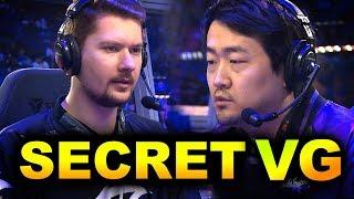 SECRET vs VG - EU vs CHINA ELIMINATION! - TI9 THE INTERNATIONAL 2019 DOTA 2