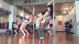 Heartbroken In Disrepair - Tuesday Pole Grooves @ Body Electric Pole