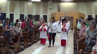 Canto de Entrada - 1º Dia da Novena a Nossa Senhora Aparecida (03.10.2018)