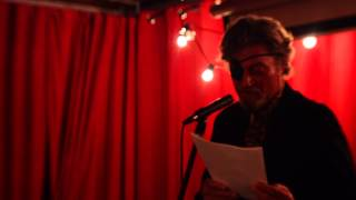 Rusty reading Nocturnal Events at Stardust