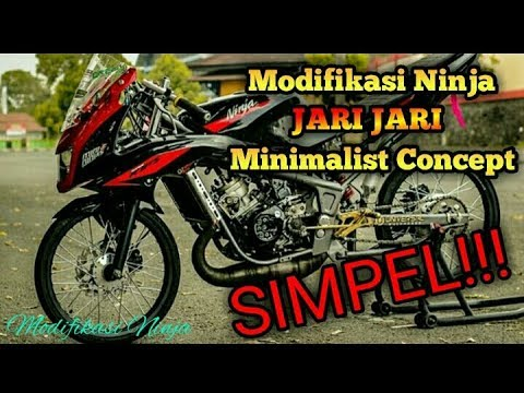 Video ANDA HARUS TAU!! Modifikasi Ninja R MINIMALIS SIMPLE
