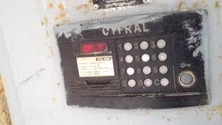 Тест универсальных ключей на домофонах Cyfral CCD-20,2094.1 и Метаком МК-2003