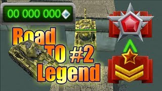 Tanki Online Road To Legend #2 A.F.F_XP no buying :o