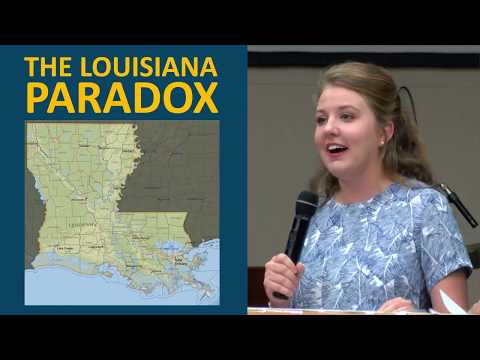 "How Louisiana Stays Poor (2018) ""With all Louisiana's in natural resources and industry, why do we stay poor? [15:25]"