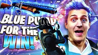 BLUE PUMP SHOTGUN FOR THE WIN!! W FAZE FUNK, NATE HILL & REVERSE2K