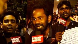 """Jallikattu Marina Protest - """"Youth question TN's CM"""""""