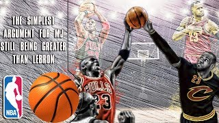 The simplest argument for Michael Jordan still being greater than Lebron James