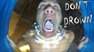 DANGEROUS TRY NOT TO DROWN CHALLENGE!!