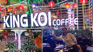 King Koi Coffee Garden Beautiful as The Second Aquarium New Arrival In Saigon