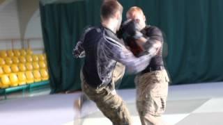 Combat Sambo - Pokaz PWSZ 2014