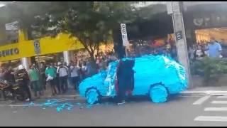 Стопхам в бразилии или наказали за парковку на месте инвалида