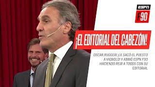 ¡EL EDITORIAL DEL CABEZÓN! #Ruggeri le sacó el puesto a #Vignolo y abrió #ESPNF90