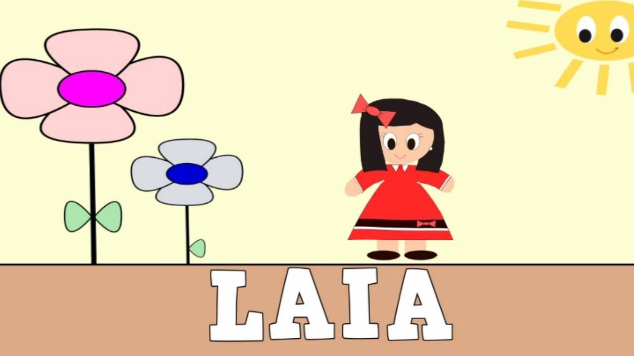 Aprender a Leer y Escribir LAIA - Vídeos educativos para Niños y Bebés - Paty y Poty