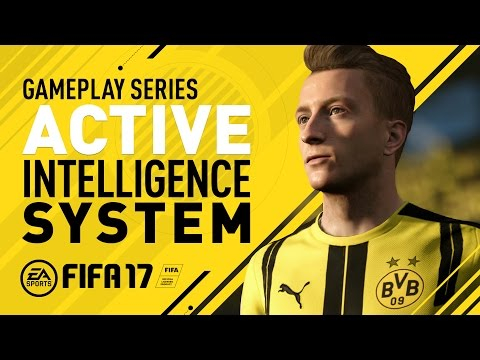 FIFA 17 Gameplay Features – Active Intelligence System – Marco Reus