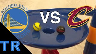 Marble Sports Race: Golden State Warriors vs Cleveland Cavaliers - Toy Racing