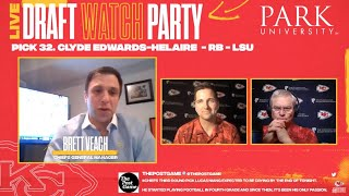 NFL Draft Day 2 Recap | Chiefs Watch Party