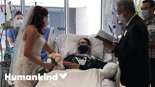 Hospital throws wedding for COVID patient | Humankind