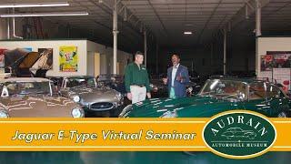Jaguar E-Type Virtual Seminar: 60th Anniversary