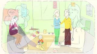 Les violences conjugales, la grossesse et les enfants. Film en français.