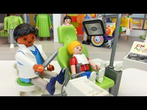 Zahnarzt 6662 für Playmobil Kinderklinik auspacken