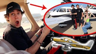 Vlog Squad Attempts to Fly a Plane