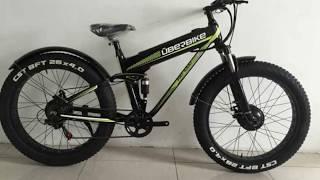 Электровелосипед Uberbike Fat Dual 1000W 48V 10Ah обзор