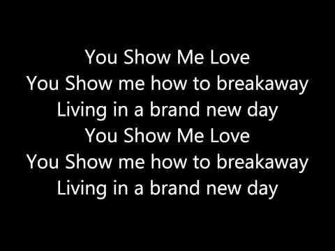 Brand New Day - Lorena Simpson (Lyrics)