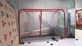 PowerBolt 72 Inch Metal Hockey Goal Review And Shots