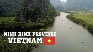 Ninh Binh Vietnam Drone Footage