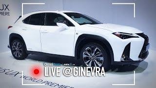 Nuova Lexus UX   Salone di Ginevra 2018