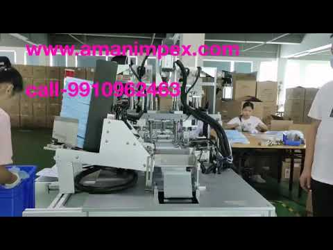 Automatic 3 Ply Earloop Fixing Machine