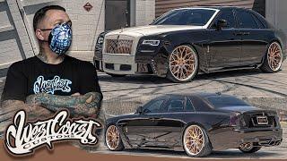 Ryan Transforms His Rolls Royce Ghost   West Coast Customs