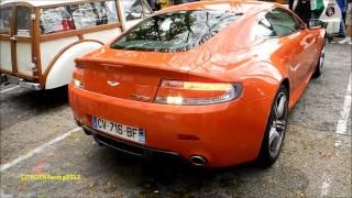 preview picture of video 'ASTON MARTIN V8 N400 Vantage Nurburgring SOUND orange Nantua [HD]'