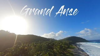 Grand Anse réunion FPV 4k