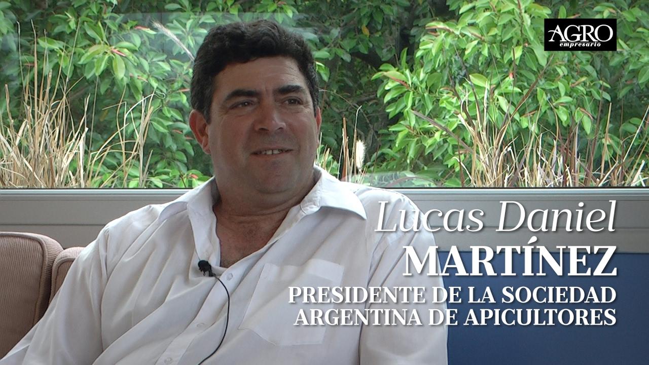 Lucas Daniel Martínez - Presidente de la Sociedad Argentina de Apicultores