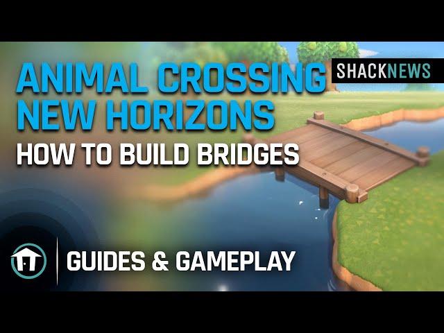 Animal Crossing: How to make a bridge