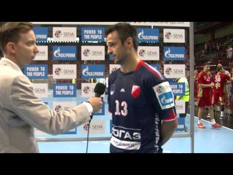 Veszprem - Vojvodina Post Match Interview (12.09.2015. - 15/16)