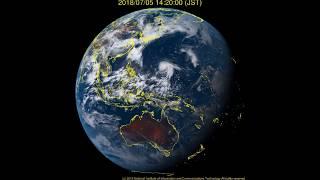2018台風8号Mariaマリアの動き