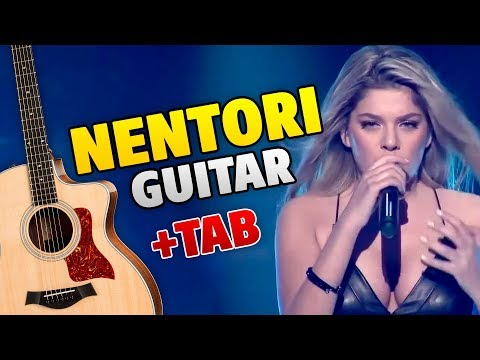 Arilena Ara – Nentori (fingerstyle guitar cover with tabs and karaoke)