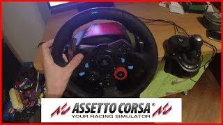 VOLANTE LOGITECH G29 + CAMBIO MANUALE su ASSETTO CORSA PS4!